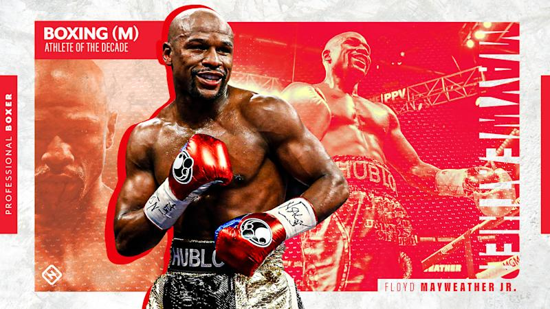 Floyd Mayweather Jr.: Sporting News men's boxing Athlete of the Decade