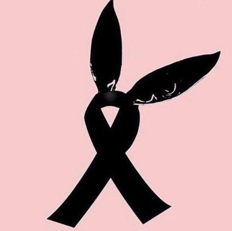 People have been sharing this poignant symbol in tribute to the victims.