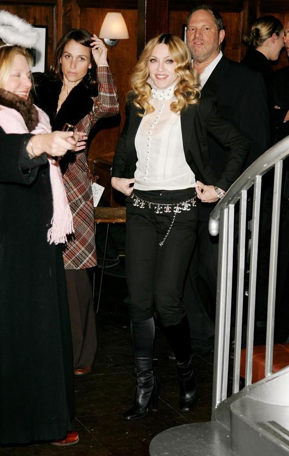 Singer/actress Madonna hosts a special screening of