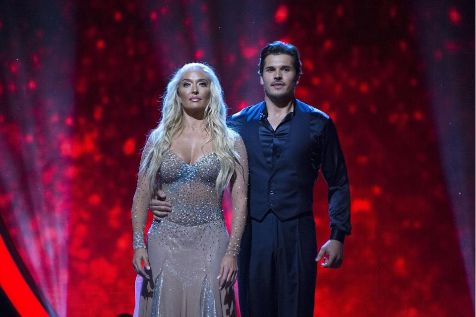 <p>Erika Jayne's hair looked so freakin' flawless, even while she danced. She's truly never had a bad hair day. Anyway, can we get that full season of <em>Real Housewives of Beverly Hills</em> cast members yet?</p>