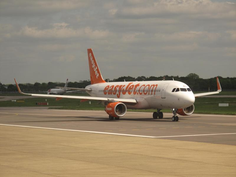 Time watch: easyJet Airbus A320 taxiing at the airline's main base, Gatwick: Simon Calder