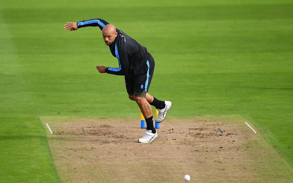 Tymal Mills bowling - The third coming of Tymal Mills, who beat the pain barrier to follow in the footsteps of Lasith Malinga - GETTY IMAGES