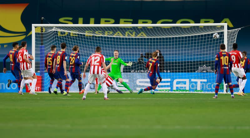 Spanish Super Cup Final - FC Barcelona v Athletic Bilbao