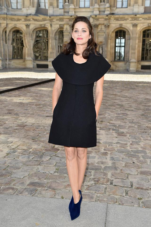 <p>Oscar-winning actress Marion Cotillard's fame may now be global, but her style remains decidedly French. (Photo: Getty Images) </p>