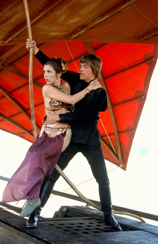 """Carrie Fisher<br>""""Return of the Jedi"""" (1983)"""