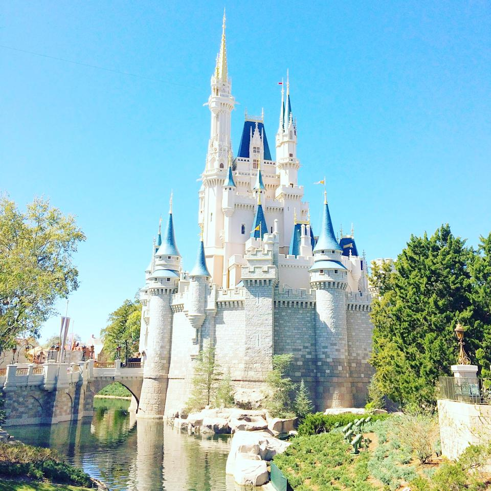 <p>While Disneyland has Sleeping Beauty Castle, Walt Disney World has Cinderella Castle, which towers over Magic Kingdom at 189 feet tall.</p>