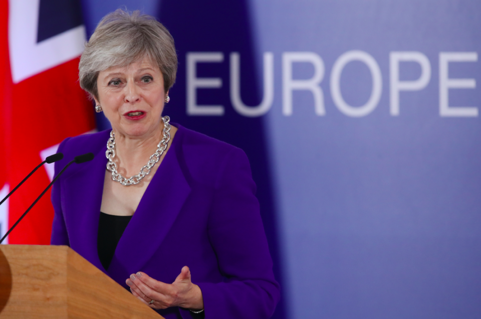 <em>Leaked Cabinet papers indicated the transition period could last for years (Getty)</em>