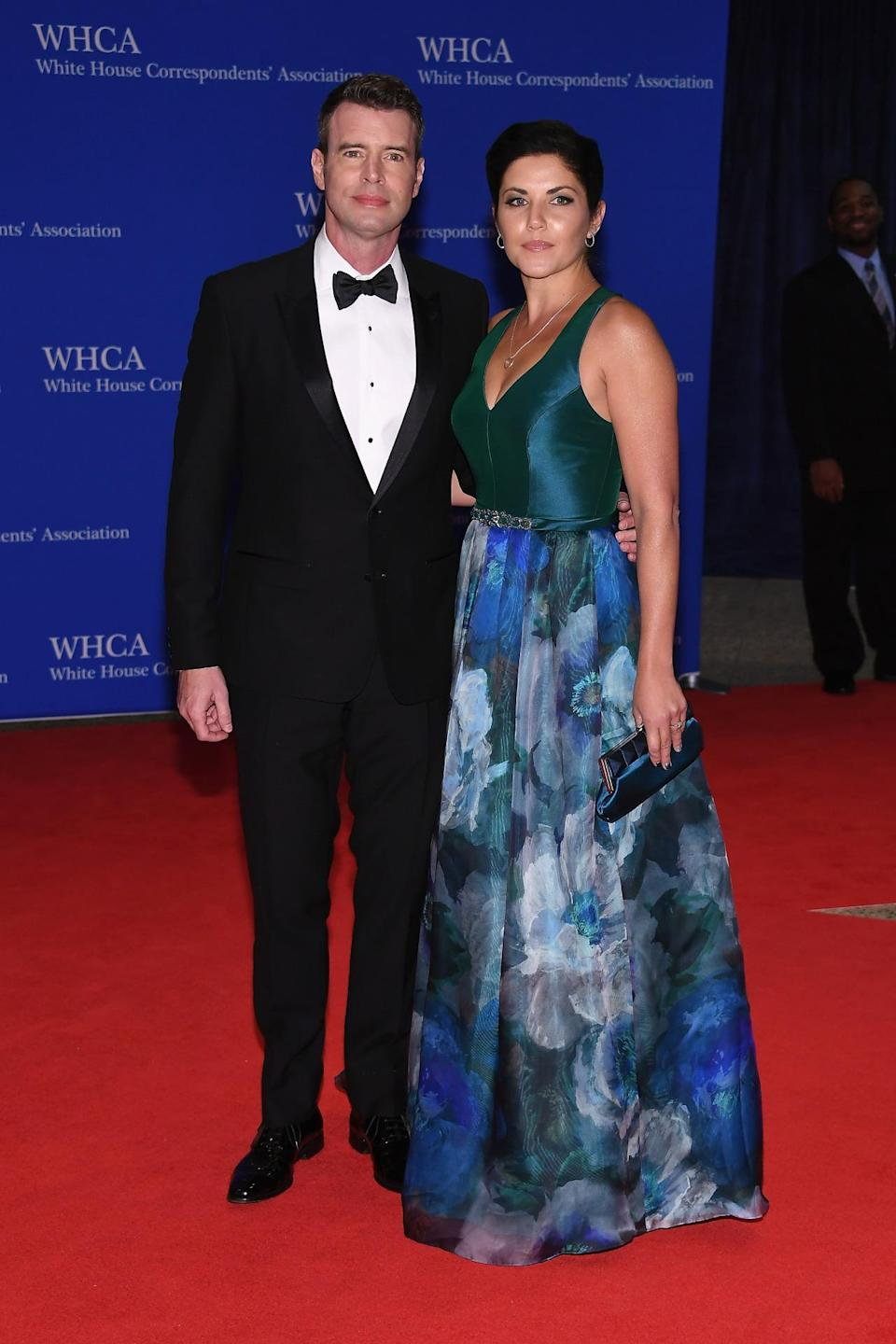 <p>Actors Scott Foley and Marika Dominczyk attend the 102nd White House Correspondents' Dinner, April 30.<i> (Photo: Larry Busacca/Getty Images)</i></p>