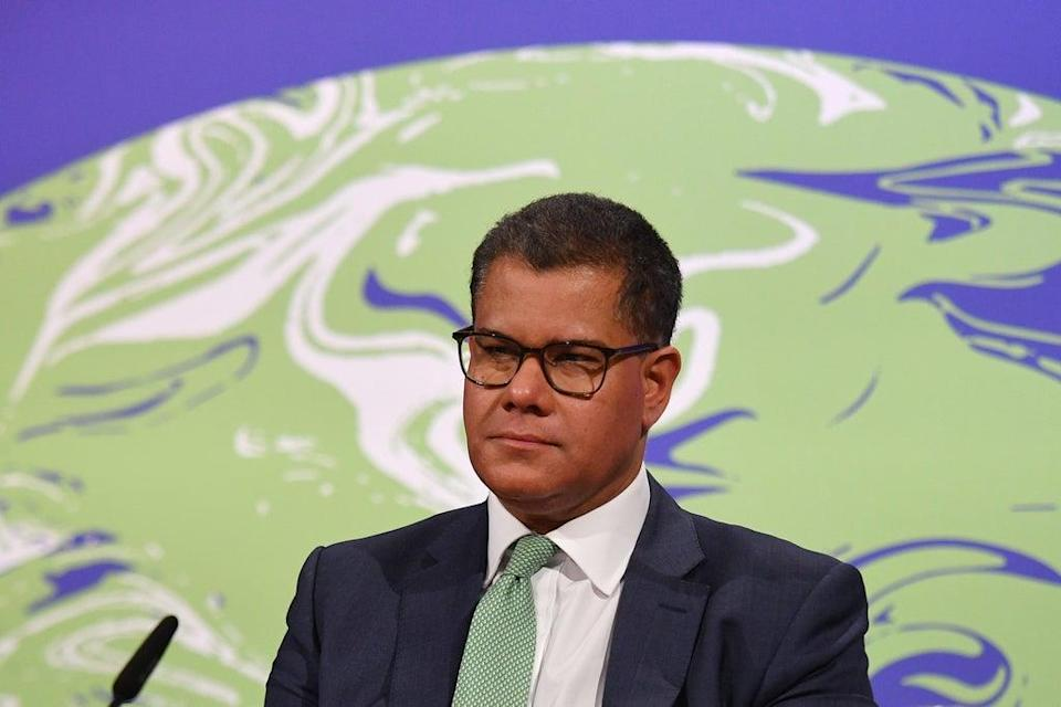 Alok Sharma has travelled to China for talks ahead of the Cop26 summit in November (Justin Tallis/PA) (PA Wire)