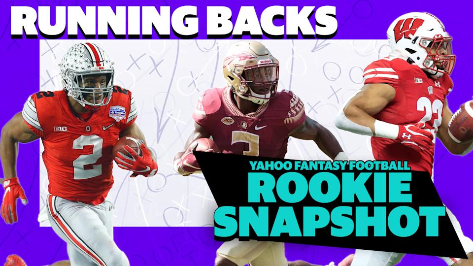 Liz Loza & Eric Edholm preview the five running backs you need to know heading into the 2020 NFL draft. (Getty Images/Yahoo Sports)