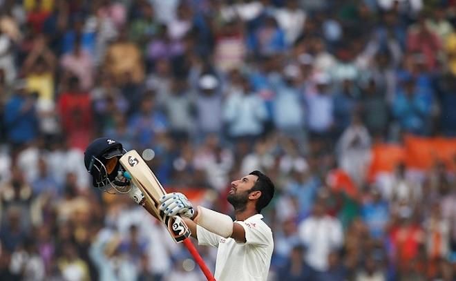 Cheteshwar Pujara, India, Australia, third Test, double hundred