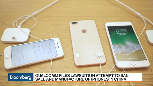 "Oct.15 -- Qualcomm has stepped up its legal fight with Apple, filing lawsuits in China to stop the manufacture and sale of iPhones in the country. Bloomberg's Peter Elstrom reports on ""Bloomberg Markets: Asia."""