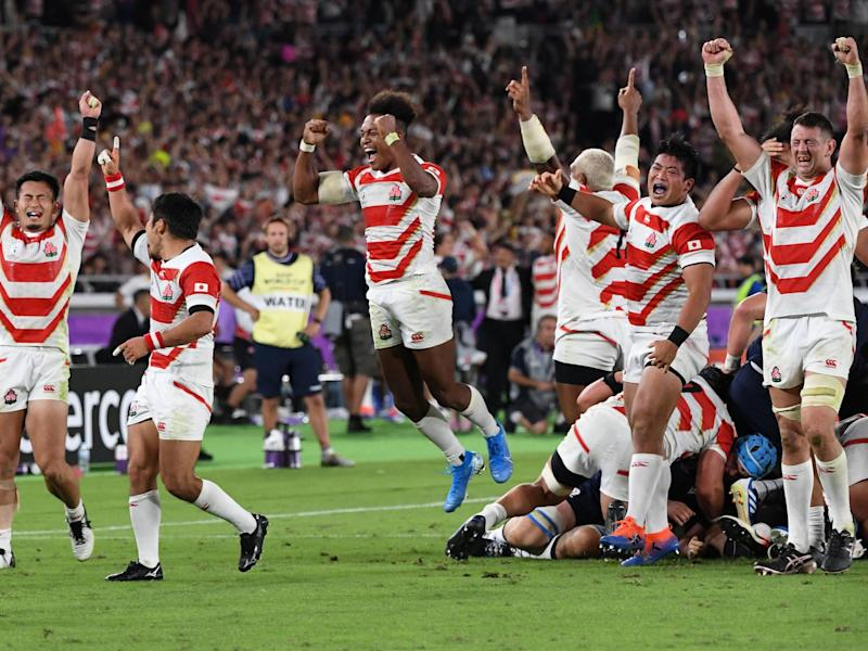 The quarter-finals of the 2019 Rugby World Cup have been confirmed: AFP via Getty