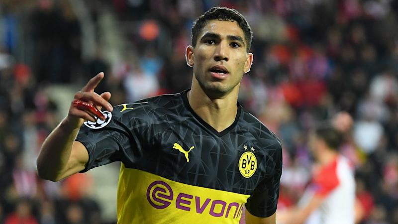Hakimi's aim is to play for Real Madrid - agent