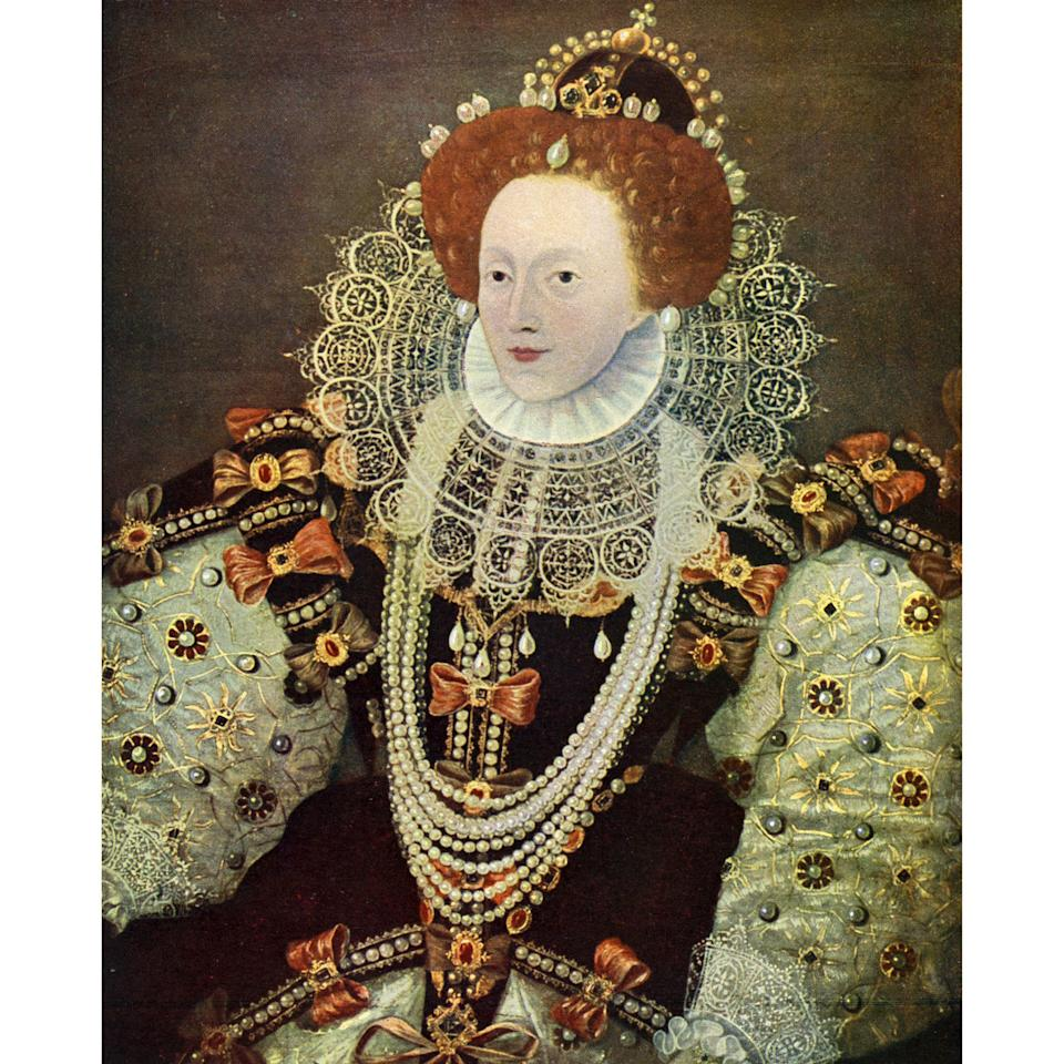 """<p>To rule over 16th century England, Elizabeth—also known as the Virgin Queen—didn't need a man, but she did require a swipe of bold, red lip rouge to set off her regal pallor. Unfortunately, the <a rel=""""nofollow"""" href=""""http://www.allure.com/gallery/best-red-lipstick-moments-in-history?mbid=synd_yahoobeauty"""">red lipstick</a> of the time was made with toxic mercuric sulphide, and her foundation, called Venetian ceruse, was made with dangerous lead and vinegar. She eventually died of blood poisoning, rumored to have been caused by her noxious cosmetics.</p>"""