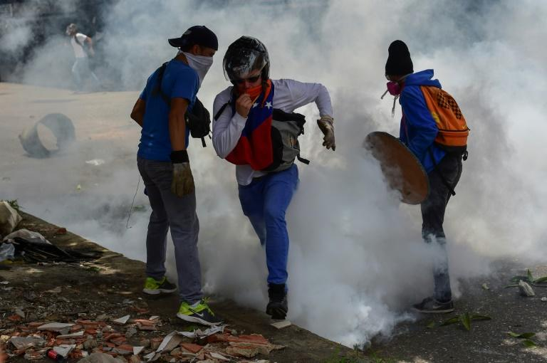Caracas has been rocked by weeks of violent protests since President Nicolas Maduro moved to tighten his grip on power, escalating the country's political and economic crisis