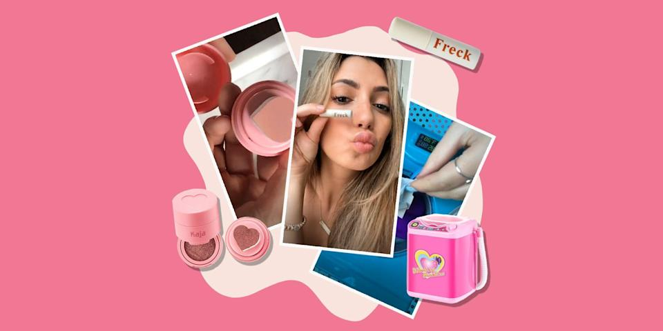 <p>Whether you're on the dance-obsessed bandwagon or not, TikTok is here to stay. Although the social media app is mostly known for its variety of dance challenges and hilarious videos, there's a whole community of TikTokers who are obsessed with only the best of beauty.</p><p>So if you think your cosmetics collection could use a refresh, you're in luck: We rounded up the best TikTok beauty products that you need to grab ASAP. </p>