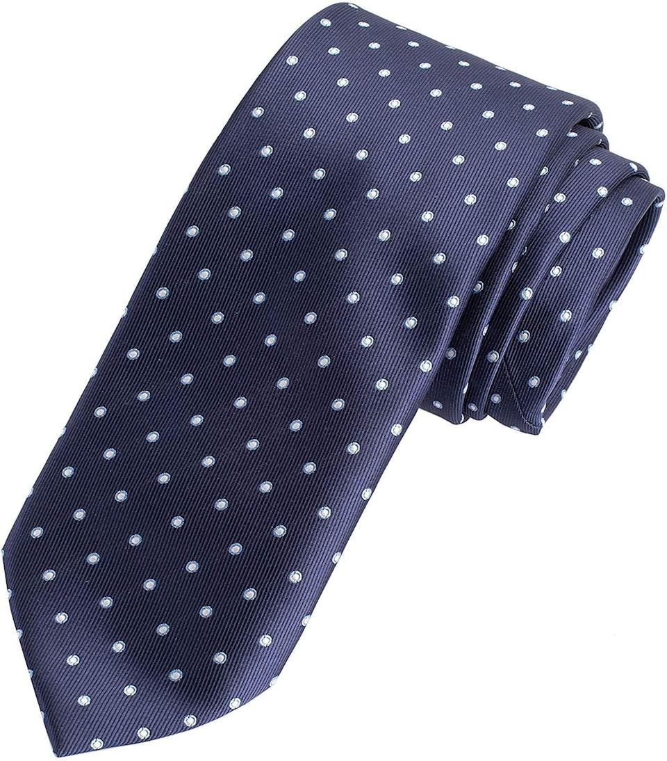 <p>This <span>Amazon Essentials Men's Classic Dots Necktie</span> ($12) is a great stocking stuffer.</p>