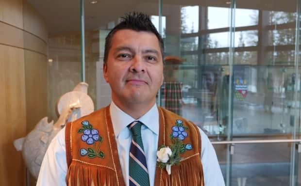'Agreements are in place with Indigenous governments and provincial jurisdictions across Canada,' said Jackson Lafferty, speaking about child welfare under Bill C-92. 'We should be in that position as well.'  (Mario De Ciccio/Radio-Canada - image credit)
