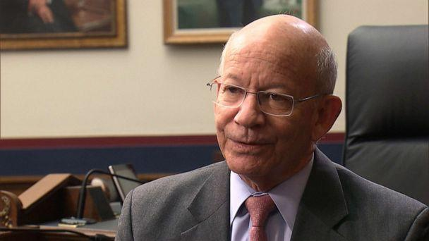 PHOTO: House Transportation and Infrastructure Committee Chair Rep. Peter DeFazio, D-Ore., sat down with with ABC News' Senior Transportation Correspondent David Kerley ahead of the 737 Max hearing. (ABC News, FILE)