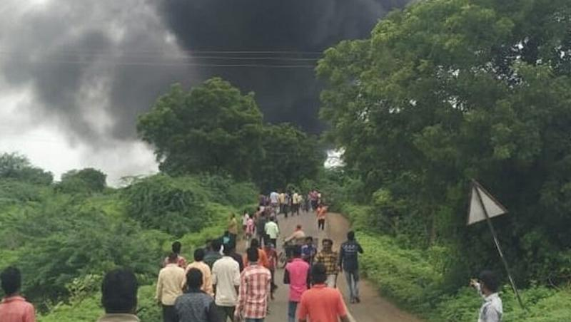 Maharashtra: Blast at Chemical Factory in Dhule, 12 Killed, 53 Wounded