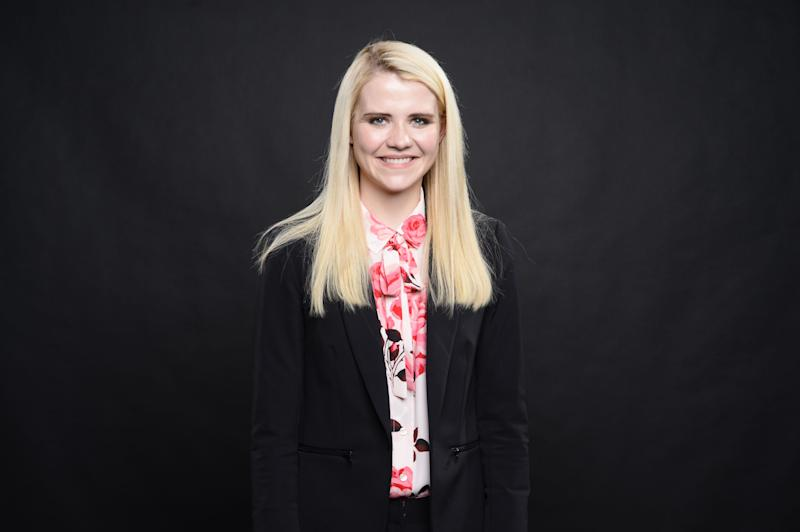 Elizabeth Smart poses for a picture following an interview on March, 27, 2018 in New York with USA TODAY.