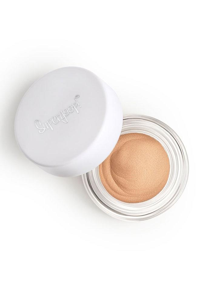 "You might not think to put sunscreen on your lids, but they do come into contact with the sun's harsh rays! Thankfully, Supergoop! has recently launched a creamy, sparkly, eyeshadow with SPF 30 built-in so you can safely bat your lashes outside all day long — even during the dog days of summer. $24, Nordstrom. <a href=""https://click.linksynergy.com/deeplink?id=lYYSEIC9SjY&mid=1237&u1=bestmakeupspf&murl=https%3A%2F%2Fshop.nordstrom.com%2Fs%2Fsupergoop-shimmershade-illuminating-cream-eyeshadow-spf-30%2F5255364%3F"" rel=""nofollow noopener"" target=""_blank"" data-ylk=""slk:Get it now!"" class=""link rapid-noclick-resp"">Get it now!</a>"