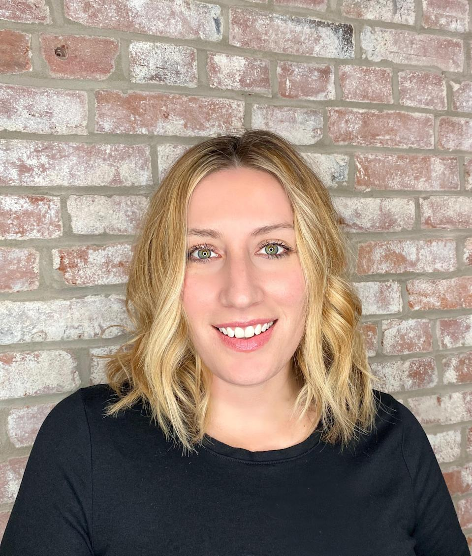"""In St. Louis, women are growing out their short hair and are into collarbone-length lobs. """"With the right stylist, growing out your hair doesn't need to be a dreadful experience,"""" says Charlie Martin, creative director and owner of <a href=""""https://www.onesixonestl.com/"""" rel=""""nofollow noopener"""" target=""""_blank"""" data-ylk=""""slk:Salon One Six One."""" class=""""link rapid-noclick-resp"""">Salon One Six One.</a> """"This cut works great with softened layers throughout the crown, not to compromise fullness around the perimeter or length,"""" says Martin. """"Adding a subtle fringe is also a great way to not get bored."""""""