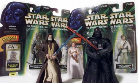 Star Wars action figures Obi-Wan Kenobi (left) and Darth Vader (right) have finally been admitted into The National Toy Hall of Fame.
