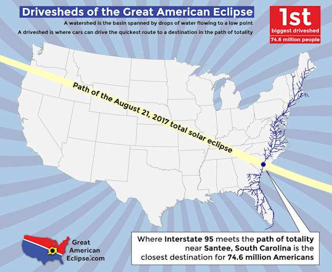 total solar eclipse traffic road map greatamericaneclipse michael zeiler esri 1