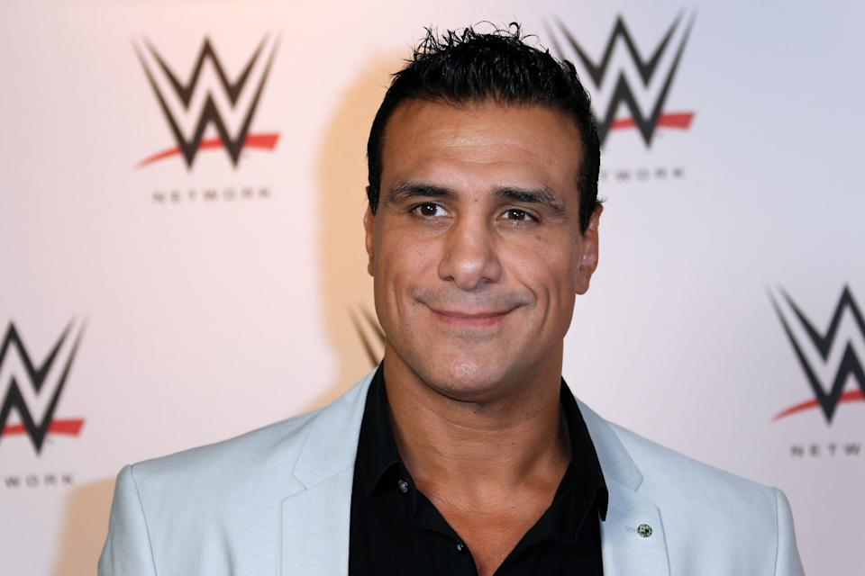 Mexican wrestler Alberto Rodriguez known as Alberto Del Rio poses before attending a show at the AccorHotels Arena in Paris, as part of the WrestleMania Revenge Tour, the World Wrestling Entertainment (WWE) European tour, on April 22, 2016 in Paris. / AFP / THOMAS SAMSON        (Photo credit should read THOMAS SAMSON/AFP via Getty Images)