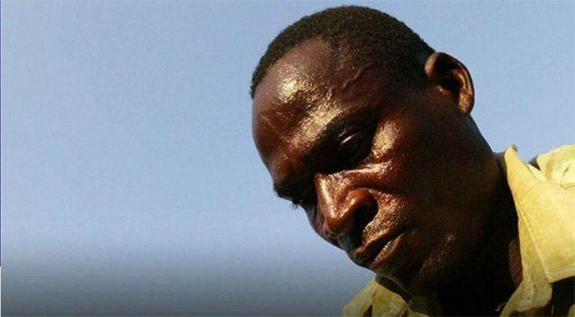 'Hyena' Eric Aniva is hired to 'cleanse' young girls after their first menstruation. Picture: BBC