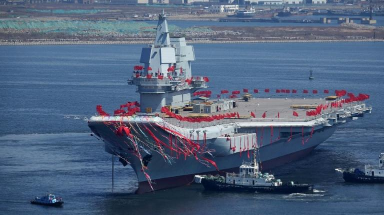 The possession of a native aircraft carrier places China among the few military powers with such vessels, including the United States, Russia and the United Kingdom