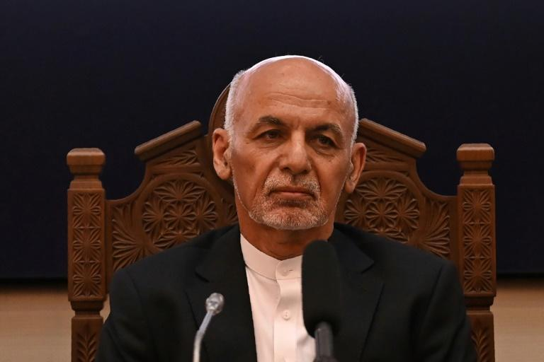 Afghanistan's President Ashraf Ghani warned that his nation was facing an 'invasion that is unprecedented in the last 30 years'