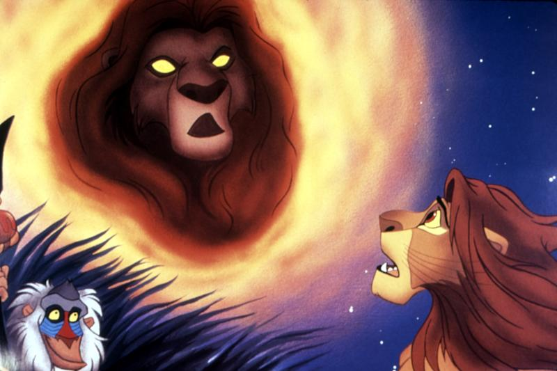 Simba sees his father's spirit in the sky in 'The Lion King' (Photo: Buena Vista Pictures/courtesy Everett Collection)
