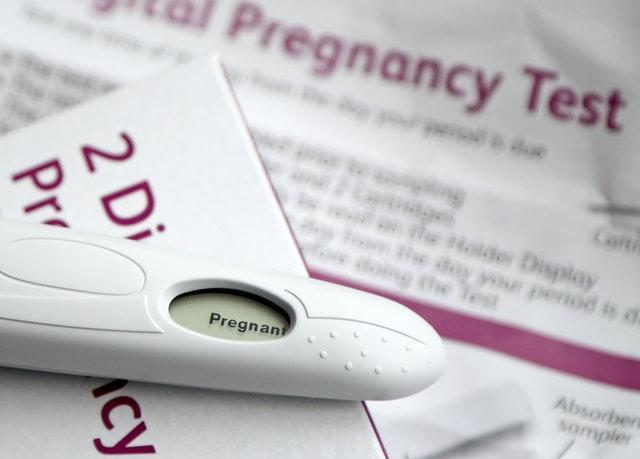 Pregnancy testing kit stock