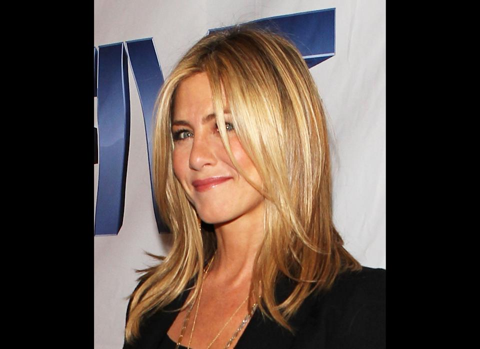 WASHINGTON, DC - OCTOBER 03:  Executive Producer and Director Jennifer Aniston attends the red carpet screening in the nation's capitol for the TV movie event 'Five' hosted by Lifetime and Jennifer Aniston at Ronald Reagan Building and International Trade Center on October 3, 2011 in Washington, DC.  (Photo by Paul Morigi/Getty Images for Lifetime)