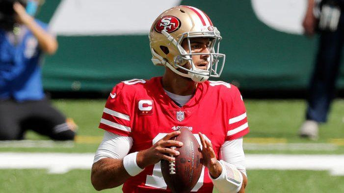 Jimmy Garoppolo out of practice again