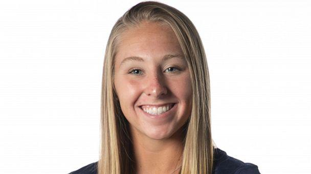 PHOTO: Southern Connecticut State University gymnast Melanie Coleman, 20, is pictured in an undated handout photo. She died after falling off the uneven bars during practice on Nov. 8, 2019. (Courtesy Southern Connecticut State University)