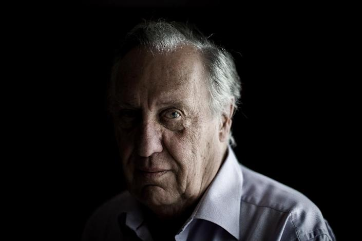 """Frederick Forsyth, whose bestsellers include """"The Day Of The Jackal"""", told of how he had assisted Britain's overseas spying agency in the Nigerian region of Biafra, East Germany, Rhodesia and South Africa (AFP Photo/Philippe Lopez)"""