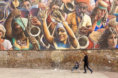 A mural in Dalston - Credit: This content is subject to copyright./MAISANT Ludovic