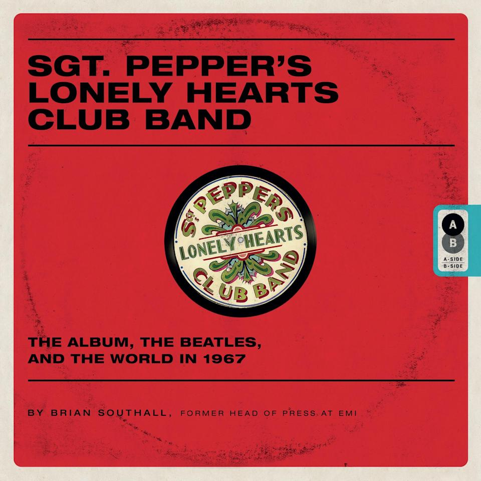 "<p>By Brian Southall<br />Like <em>Sgt. Pepper at Fifty</em>, Southall's own book breaks down into separate sections on the album itself and the cultural context into which it arrived — with the author labeling these distinct sections as his book's ""A side"" and ""B side."" (The coffee table tome is even made to look like a used LP, weathered from the inside by a slab of vinyl.) Southall, a former <em>Melody Maker</em> journalist and EMI publicist, has written a host of other Beatles books, mostly on more obscure subjects, like histories of the Abbey Road studios and the Northern Songs music publishing company. How does he do with the bigger picture of the most celebrated album of all time and 1967 in general? The <em>Wall Street Journal</em> wrote that ""Mr. Southall's book will be a handy primer for children and an aide-memoire for boomers who have entered senescence without ever leaving their adolescence.""<br />(Photo: Imagine) </p>"