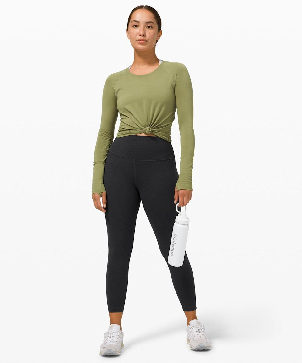 """<p>If they're always active, they need these <span>Lululemon Wunder Train High-Rise Tight 25""""</span> ($98).</p>"""