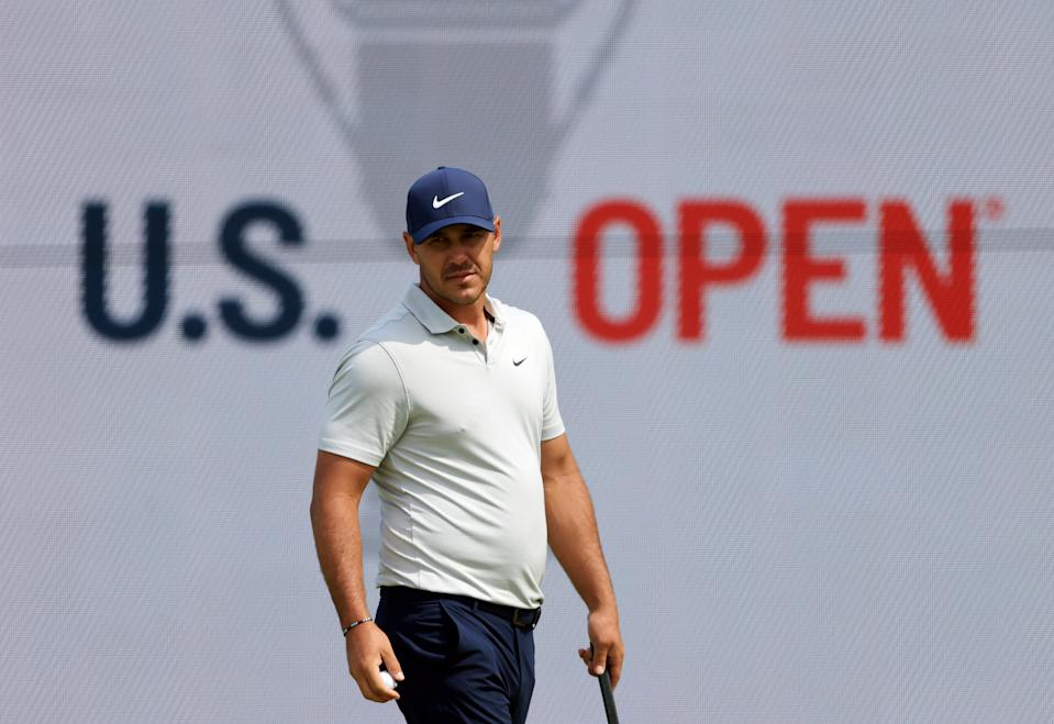 Brooks Koepka is ready to swing away. (Sean M. Haffey/Getty Images)