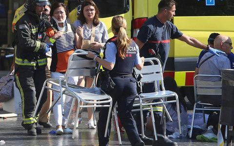 <span>Injured people are treated by emergency services at the scene</span>