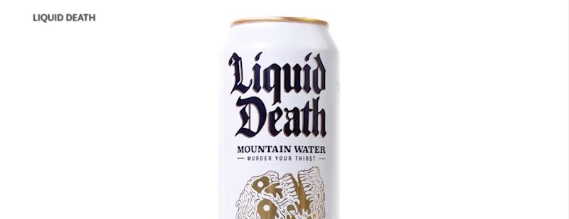 Can of Liquid Death