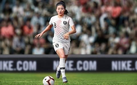 South Korea away kit, 2019 Women's World Cup - Credit: NIKE