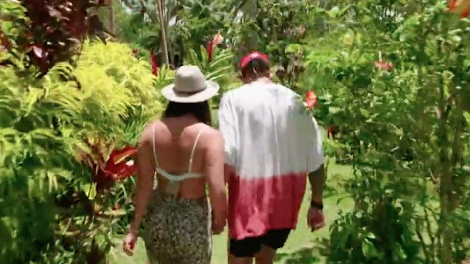 Timm and Britt made a shock exit from the show on Monday night. Photo: Channel 10.