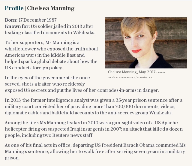 Profile | Chelsea Manning