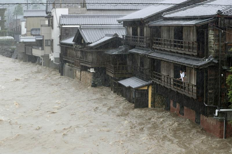 Two dead as 'Unprecedented' Typhoon Hagibis Slams into Japan, Over 80 Injured